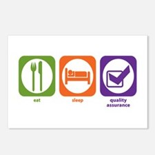 Eat Sleep Quality Assurance Postcards (Package of