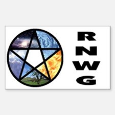 RNWG Official Logo Rectangle Decal