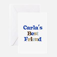 Carla's Best Friend Greeting Card
