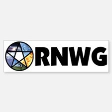RNWG Official Logo Bumper Bumper Bumper Sticker