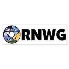 RNWG Official Logo Bumper Bumper Sticker