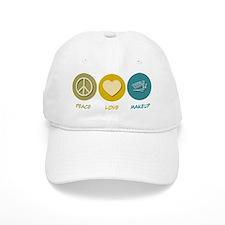 Peace Love Makeup Baseball Cap