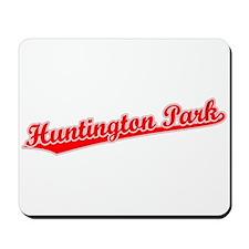 Retro Huntington P.. (Red) Mousepad