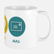 Peace Love Mail Mug