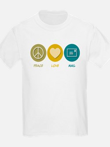 Peace Love Mail T-Shirt