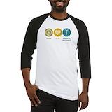 Peace love magnetic resonance shirt Long Sleeve T Shirts