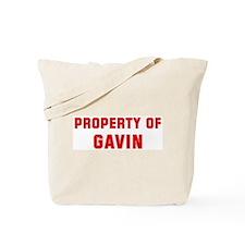 Property of GAVIN Tote Bag