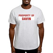 Property of GAVIN T-Shirt