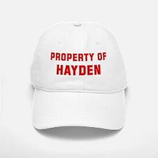 Property of HAYDEN Baseball Baseball Cap