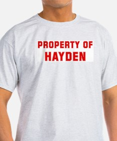 Property of HAYDEN T-Shirt