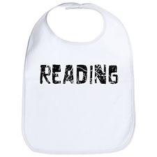 Reading Faded (Black) Bib