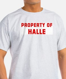 Property of HALLE T-Shirt