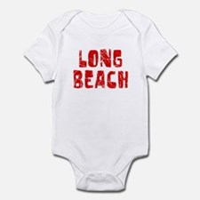 Long Beach Faded (Red) Infant Bodysuit