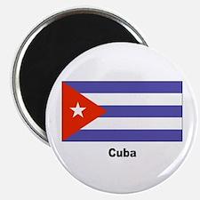 Cuba Cuban Flag Magnet
