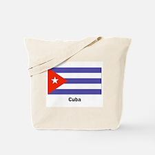 Cuba Cuban Flag Tote Bag