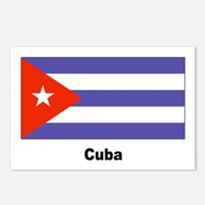 Cuba Cuban Flag Postcards (Package of 8)