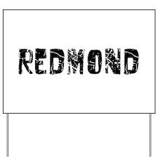 Redmond Faded (Black) Yard Sign
