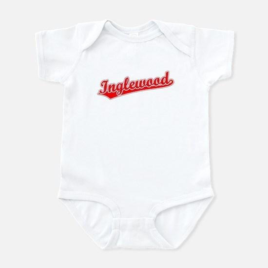 Retro Inglewood (Red) Infant Bodysuit