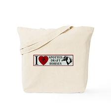 I Love Spots Tote Bag