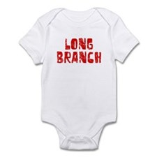 Long Branch Faded (Red) Infant Bodysuit