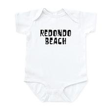 Redondo Beach Faded (Black) Infant Bodysuit