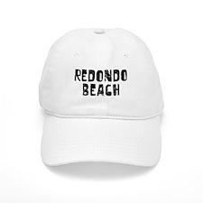 Redondo Beach Faded (Black) Baseball Cap