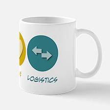 Peace Love Logistics Mug