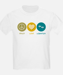 Peace Love Logistics T-Shirt