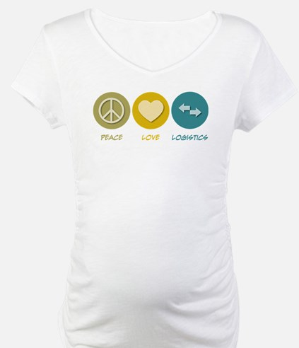 Peace Love Logistics Shirt