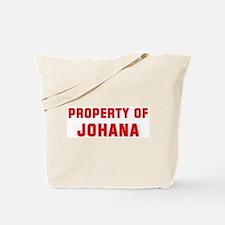 Property of JOHANA Tote Bag