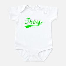 Vintage Troy (Green) Infant Bodysuit