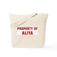 Property of ALIYA Tote Bag
