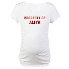 Property of ALIYA Shirt