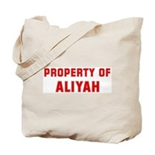 Property of ALIYAH Tote Bag