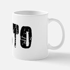 Rialto Faded (Black) Mug