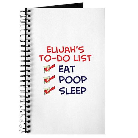 Elijah's To-Do List Journal