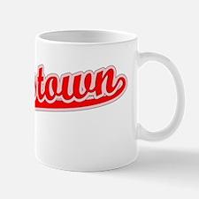 Retro Jamestown (Red) Mug