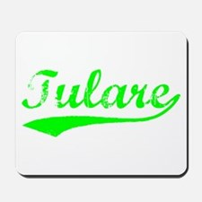 Vintage Tulare (Green) Mousepad