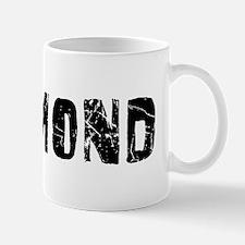 Richmond Faded (Black) Mug