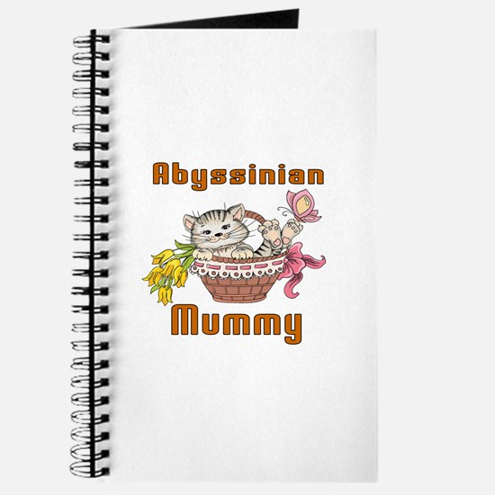 Abyssinian Cat Designs Journal