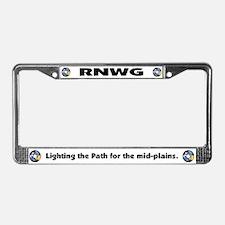 RNWG Official Logo License Plate Frame