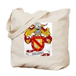 Coloma Family Crest Tote Bag