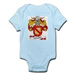 Coloma Family Crest Infant Creeper