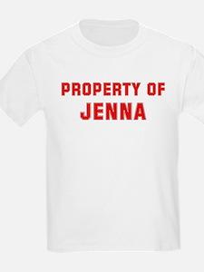 Property of JENNA T-Shirt