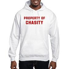 Property of CHASITY Hoodie Sweatshirt