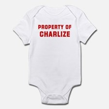 Property of CHARLIZE Onesie
