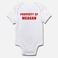 Property of MEAGAN Infant Bodysuit