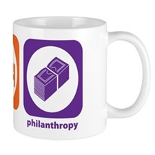 Eat Sleep Philanthropy Mug