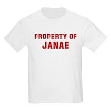 Property of JANAE T-Shirt