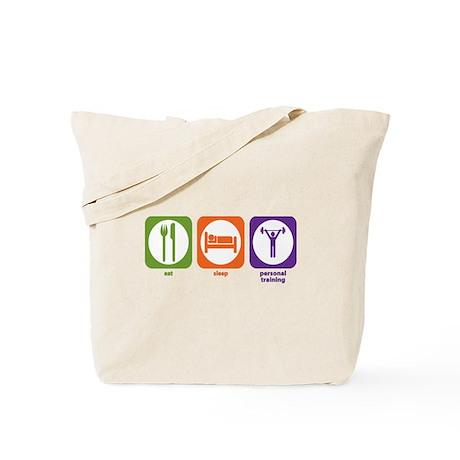 Eat Sleep Personal Training Tote Bag